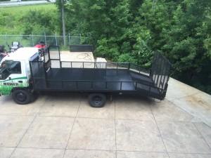 izuzu npr commercial truck for sale at the Mower Shop